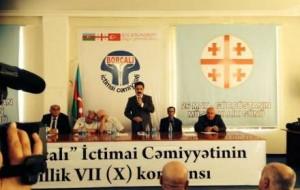 """""""Borçalı"""" Cəmiyyətinin konfransında hökumətə çağırışlar edildi"""