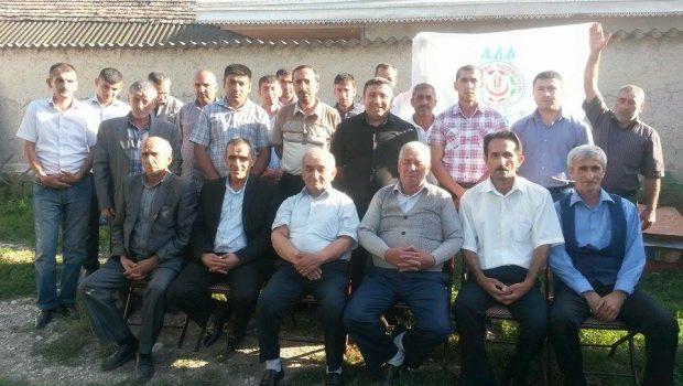 VHP Şəki rayon təşkilatı konfrans keçirib-FOTO