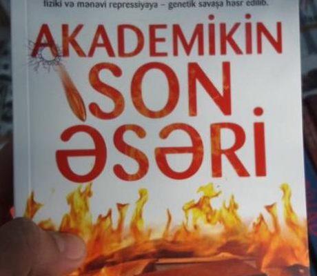 Sabir Rüstəmxanlının yeni kitabı işıq üzü görüb
