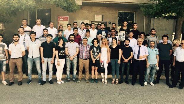VHP Gənclər Təşkilatı XII Konfransını keçirib (02.07.2017) FOTO