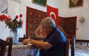 Sabir Rüstəmxanlı Elçibəyin Kələki kəndindəki evini ziyarət etdi – FOTOLAR
