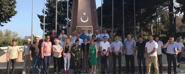 VHP Türk Şəhidliyini ziyarət etdilər