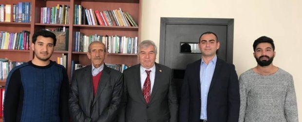 Sabir Rüstəmxanlı Naxçıvan VHP-çiləri ilə görüşüb