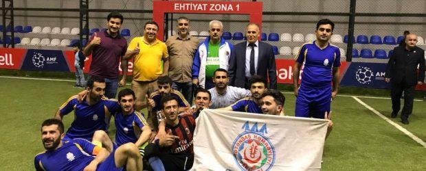 Cümhuriyyət-100: Futbol turnirinin qalibi VHP oldu