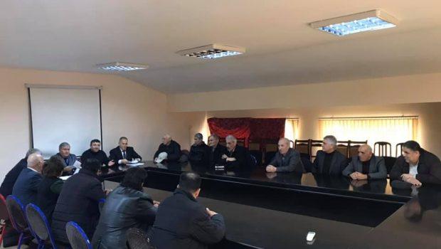 VHP-də toplantı