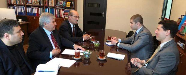 VHP sədri ABŞ diplomatı ilə görüşüb