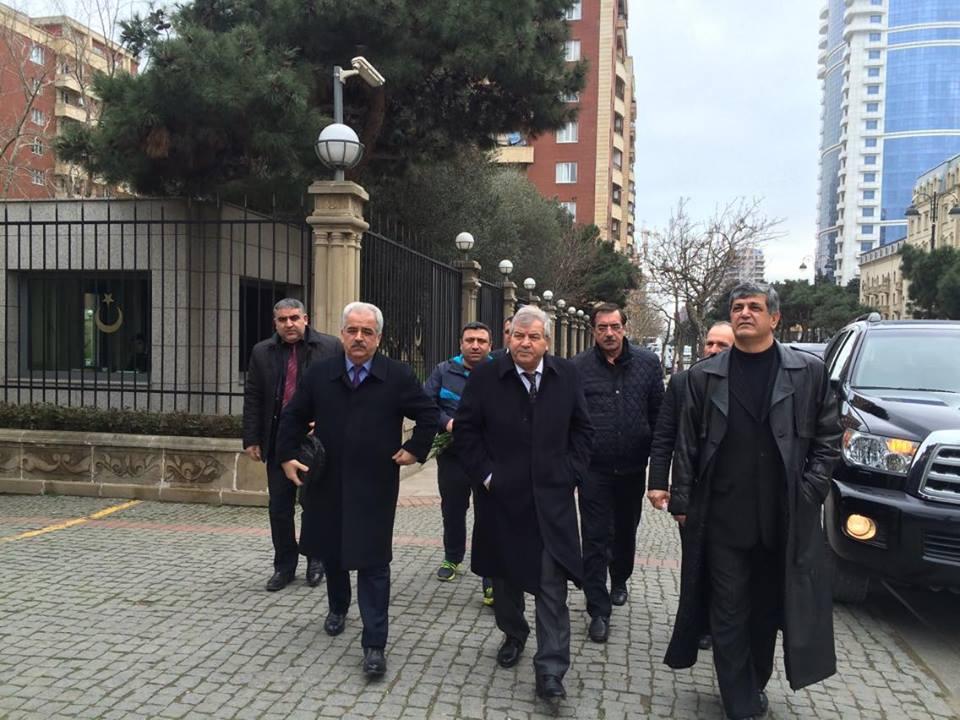 Photo of VHP üzvləri Türkiyə səfirliyini ziyarət etdilər-FOTO