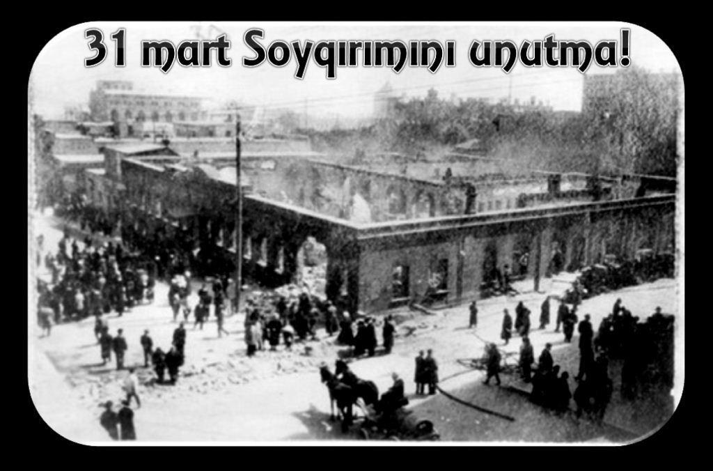Photo of Mart soyqırımından 102 il ötür