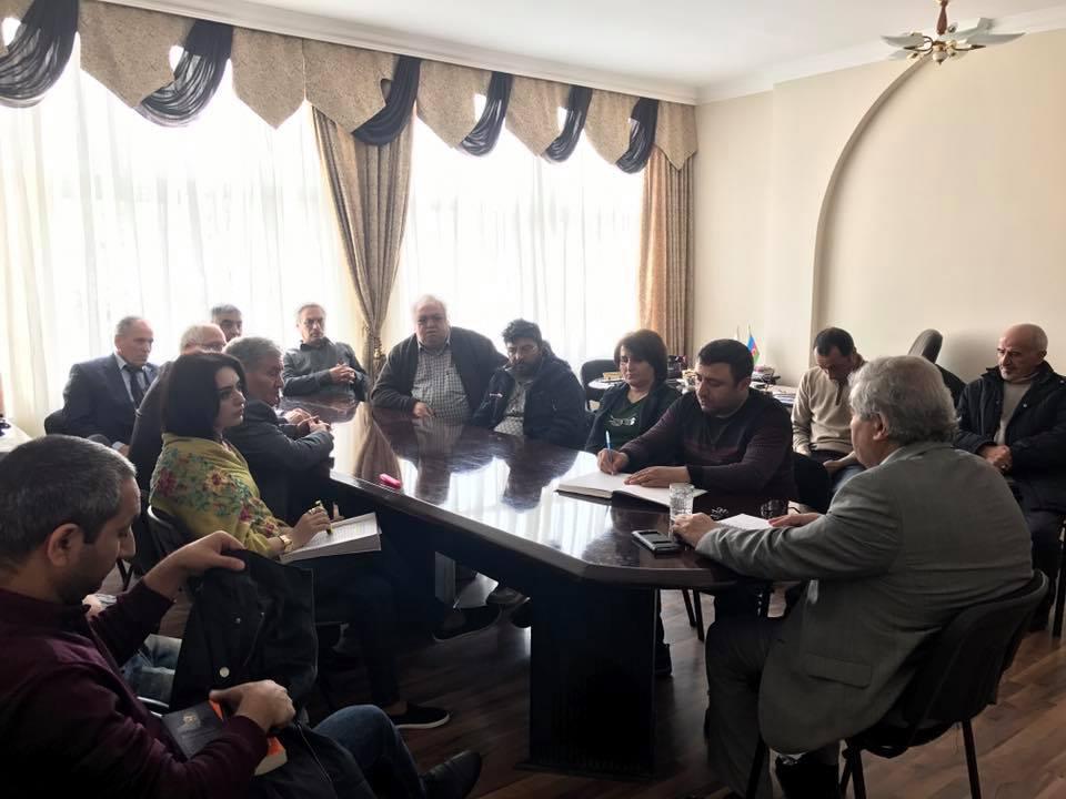 Photo of VHP Mərkəzi İcra Aparatının toplantısı keçirilib- FOTO