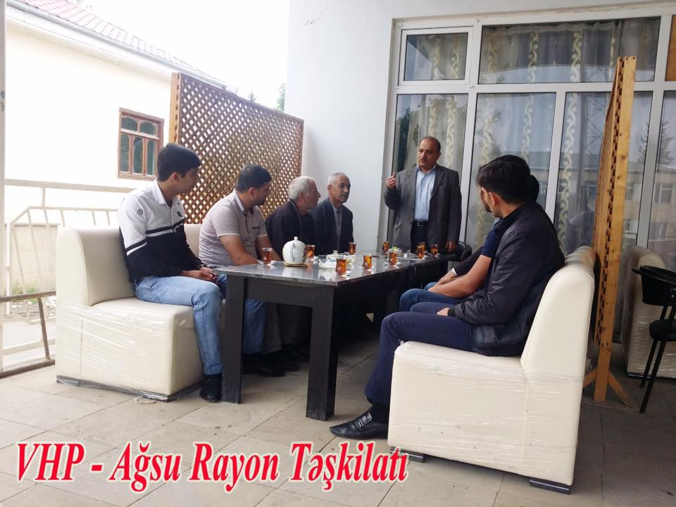 Photo of VHP rayon təşkilatlarında Cümhuriyyət tədbiri- FOTO
