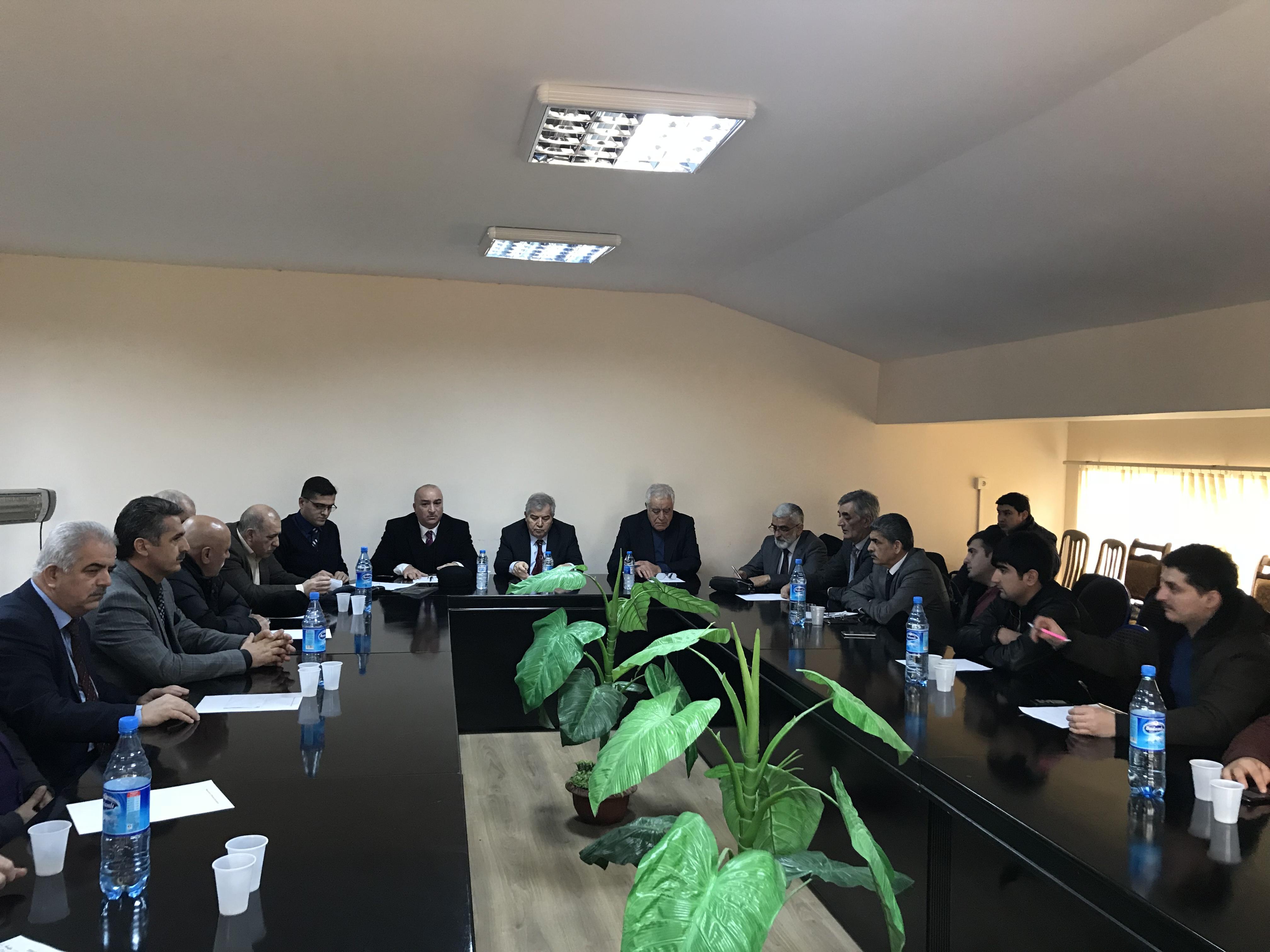 """Photo of VHP """"Bölgədə durum və Afrin əməliyyatı"""" mövzusunda """"dəyirmi masa"""" keçirib"""